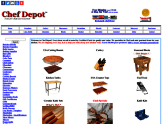 chefdepot.net screenshot