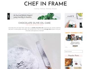 chefinframe.blogspot.com screenshot