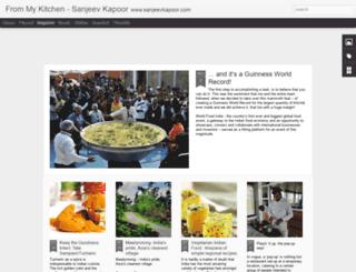 chefsanjeevkapoor.blogspot.in screenshot