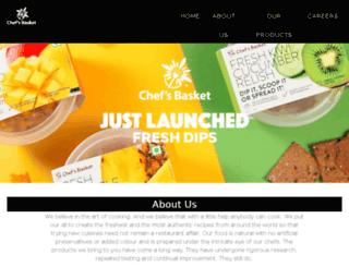 chefsbasket.in screenshot