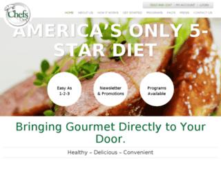 chefsdiet.com screenshot