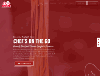 chefsfranchising.com screenshot