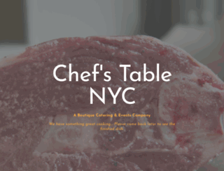 chefstablenyc.com screenshot