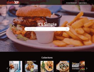 chefsxp.com screenshot