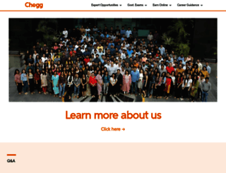 cheggindia.com screenshot