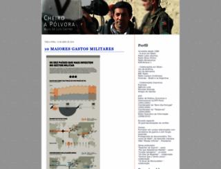 cheiroapolvora.blogs.sapo.pt screenshot