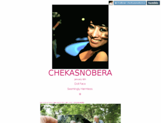 chekasnobera.tumblr.com screenshot