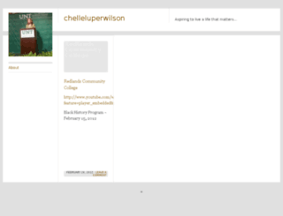 chelleluperwilson.com screenshot