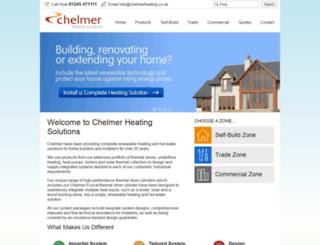 chelmerheating.co.uk screenshot