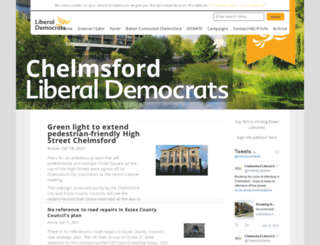 chelmsford-libdems.org.uk screenshot