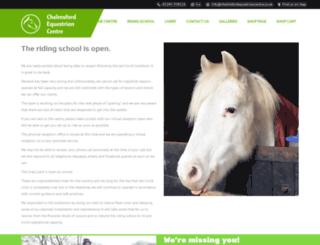 chelmsfordequestriancentre.co.uk screenshot