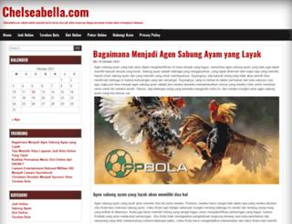chelseabella.com screenshot