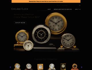 chelseaclock.com screenshot