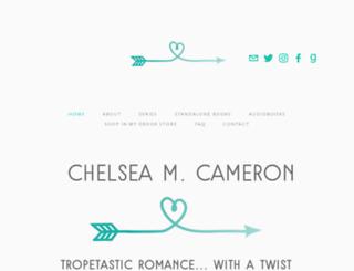 chelseamcameron.com screenshot