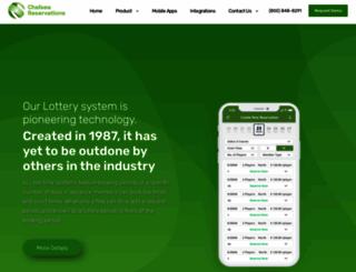 chelseareservations.com screenshot