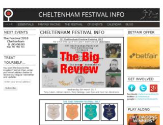 cheltenhamfestivalinfo.com screenshot