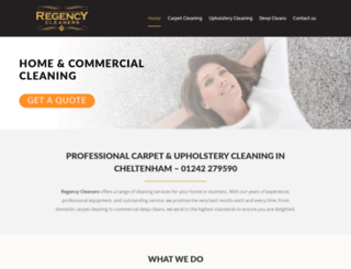 cheltenhamregencycleaners.co.uk screenshot