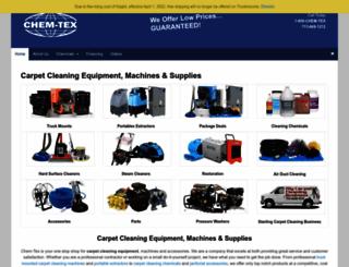 chem-tex.com screenshot