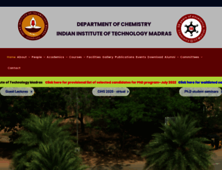 chem.iitm.ac.in screenshot