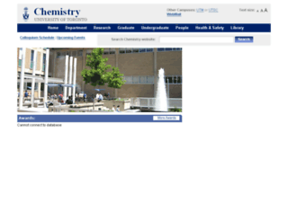 chem.toronto.edu screenshot
