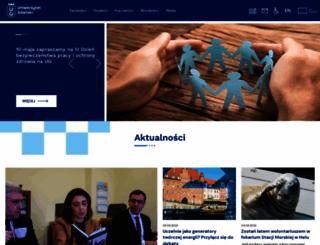 chem.univ.gda.pl screenshot