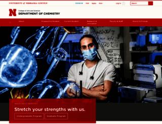 chem.unl.edu screenshot