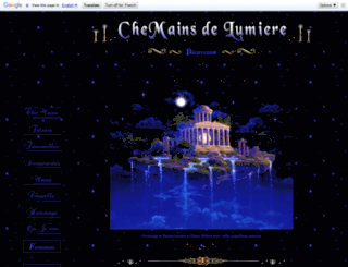 chemainsdelumiere.com screenshot