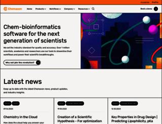 chemaxon.com screenshot