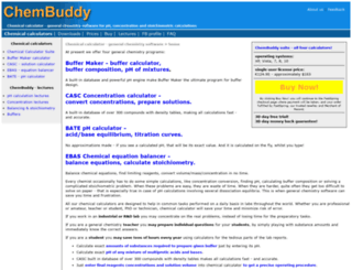 chembuddy.com screenshot
