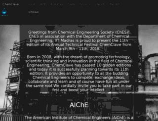 chemclave.org screenshot
