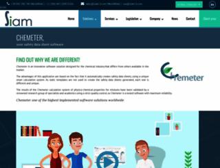 chemeter.eu screenshot