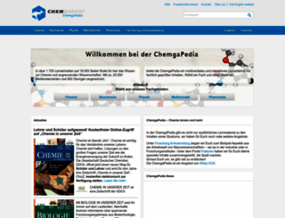 chemgapedia.de screenshot