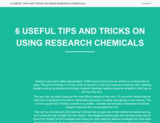 chemical-magazine.com screenshot