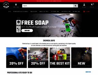 chemicalguys.com screenshot