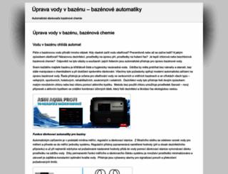 chemickauprava.cz screenshot