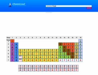 chemicool.com screenshot