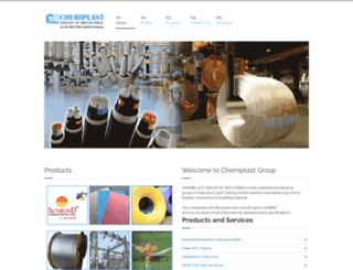 chemiplast.com screenshot