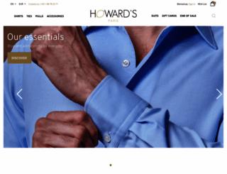 chemise-de-luxe.fr screenshot
