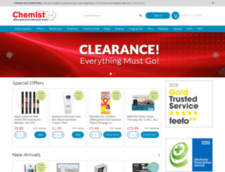 chemist.net screenshot