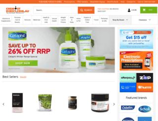 chemistdirect.com.au screenshot