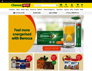 chemistdiscountcentre.com.au screenshot