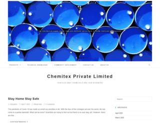 chemitex.com.pk screenshot