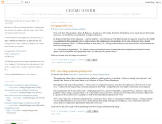 chemjobber.blogspot.com.br screenshot