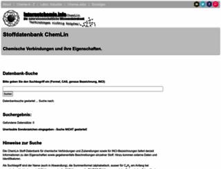 chemlin.de screenshot