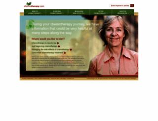 chemotherapy.com screenshot