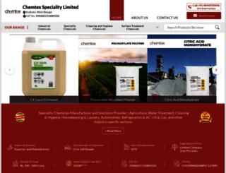 chemtexlimited.com screenshot