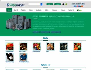 chemtronicsindia.com screenshot