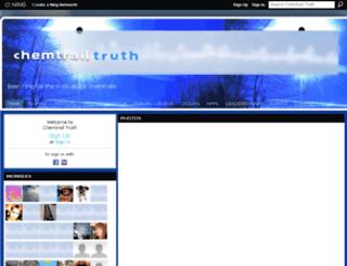 chemtruth.ning.com screenshot