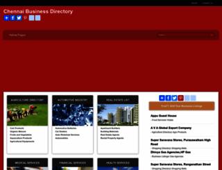chennai-business-directory.com screenshot