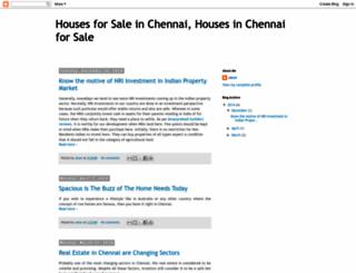 chennai-houses.blogspot.in screenshot